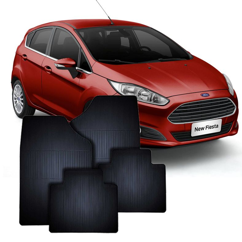 Tapete de Borracha Ford New Fiesta