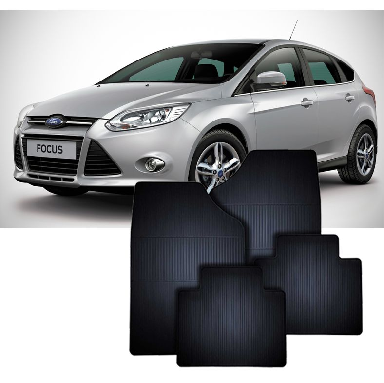Tapete de Borracha Ford Novo Focus
