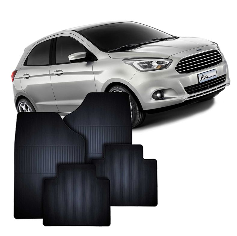 Tapete de Borracha Ford Novo Ka 2015
