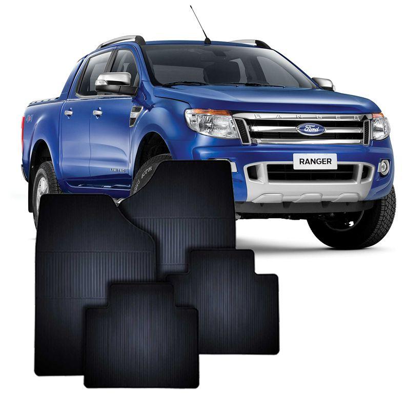 Tapete de Borracha Ford Ranger