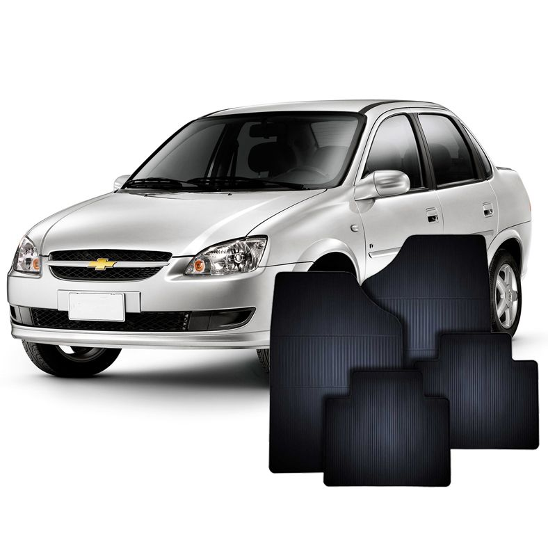 Tapete de Borracha GM Corsa Sedan