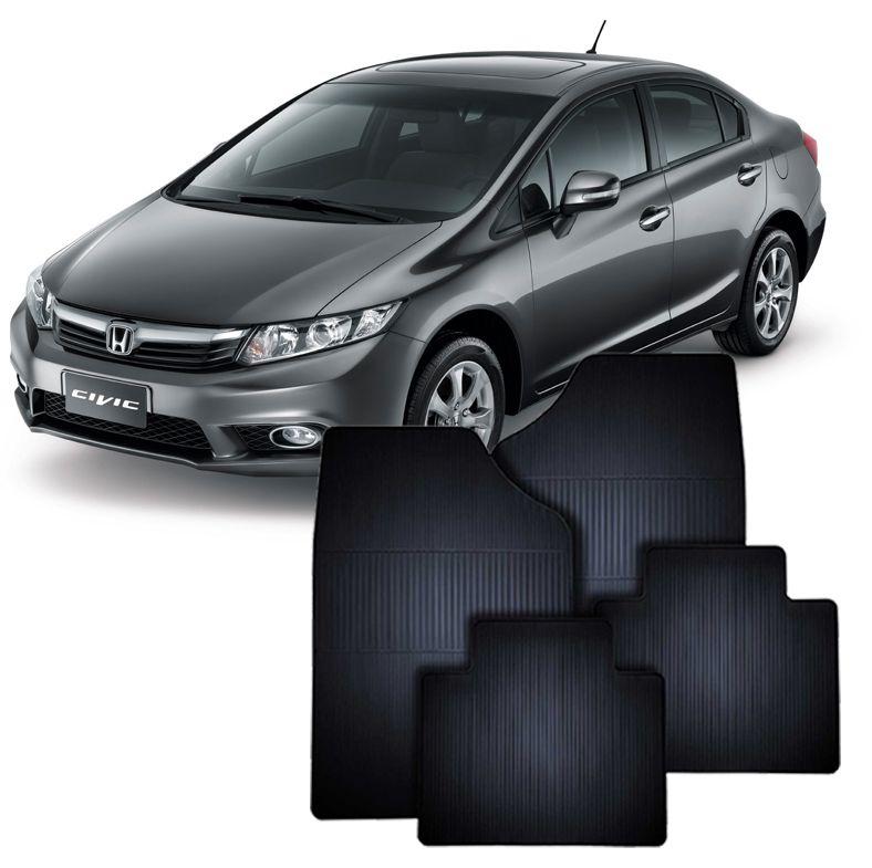 Tapete de Borracha Honda Civic