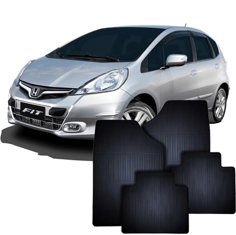 Tapete de Borracha Honda New Fit