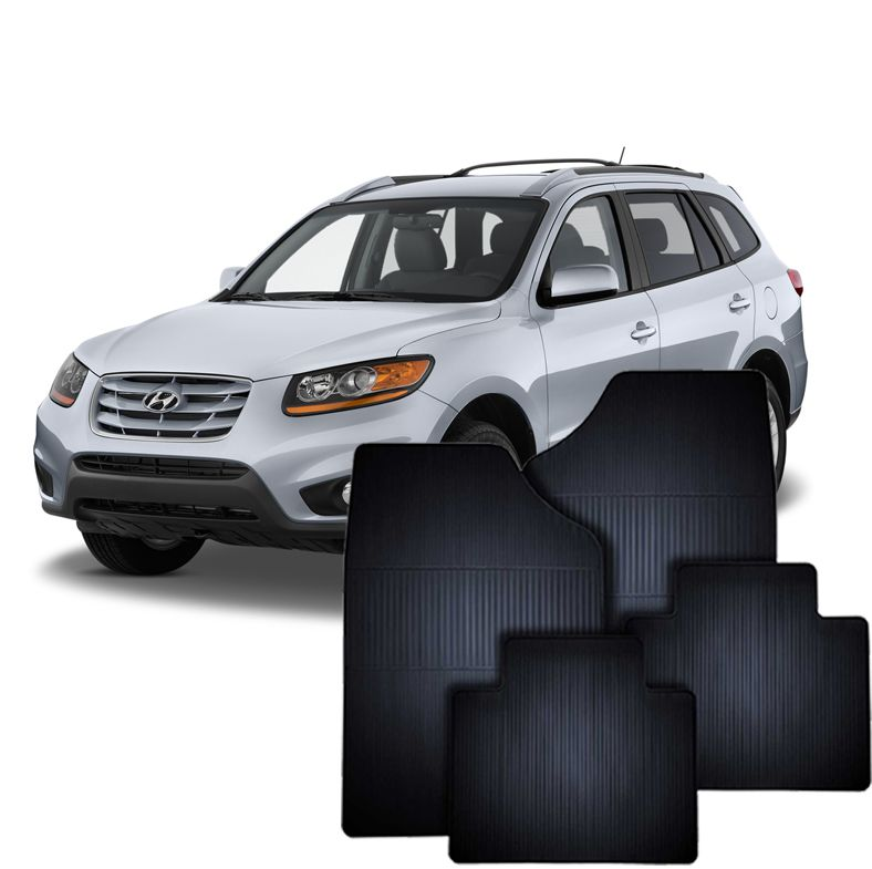 Tapete de Borracha Hyundai Santa Fé