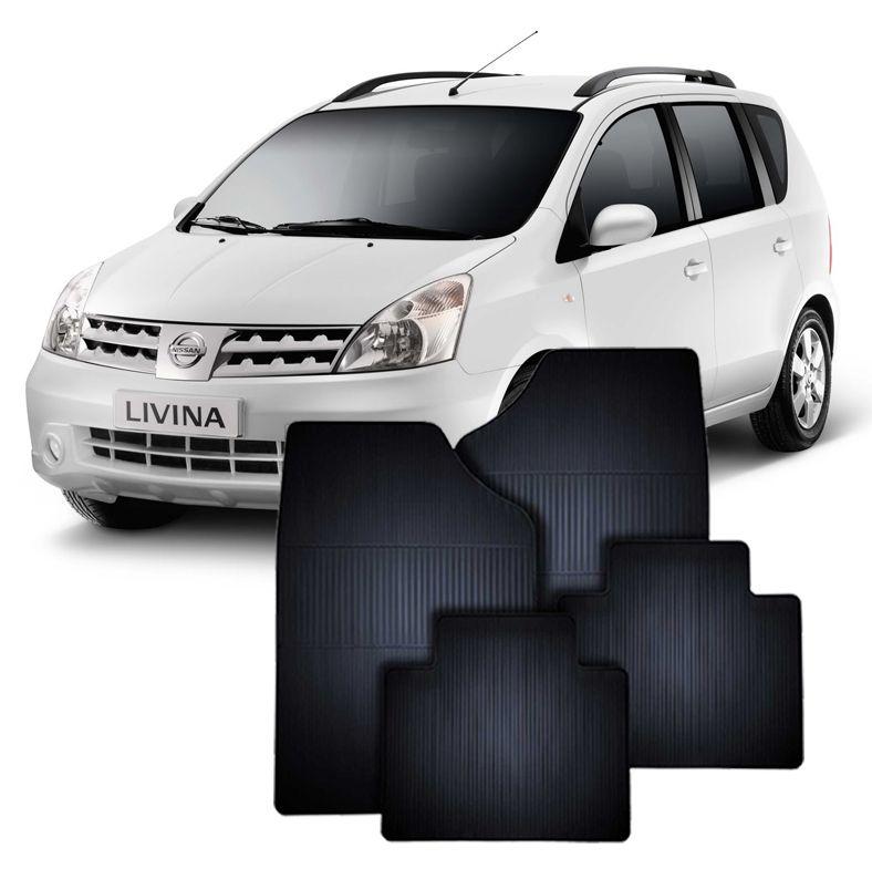 Tapete de Borracha Nissan LIVINA