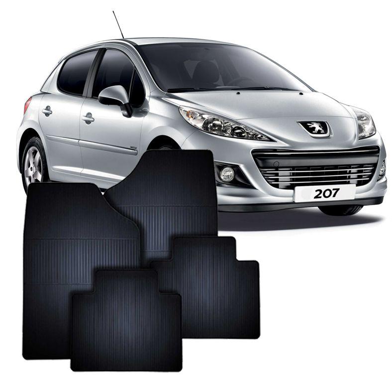 Tapete de Borracha Peugeot 207