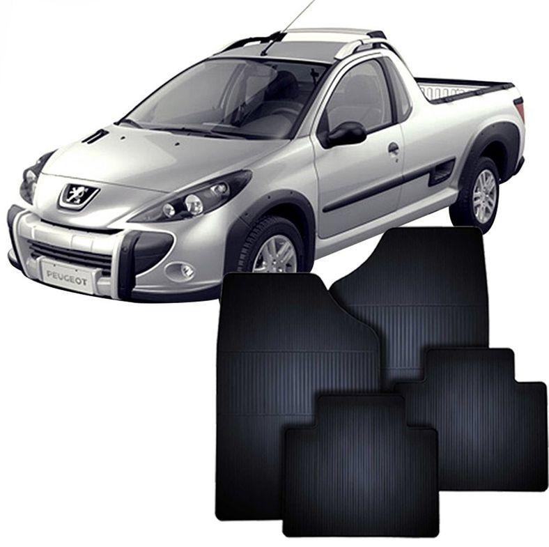 Tapete de Borracha Peugeot Hoggar