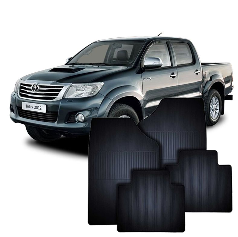Tapete de Borracha Toyota Hilux
