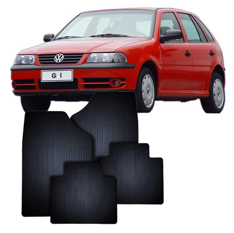 Tapete de Borracha Volkswagen Gol 95 em diante