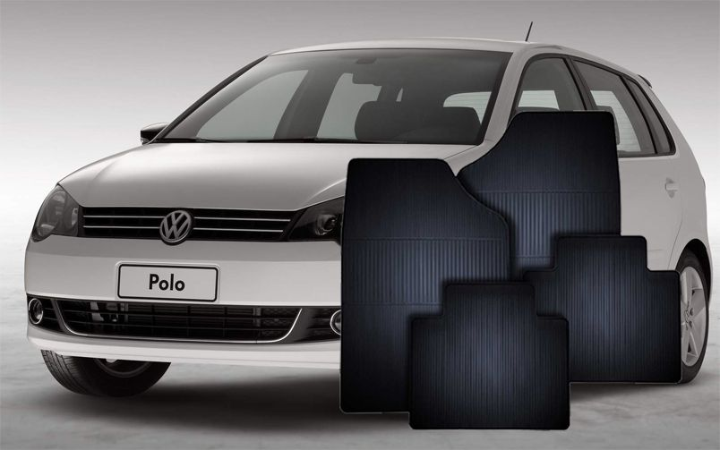 Tapete de Borracha Volkswagen Novo Polo