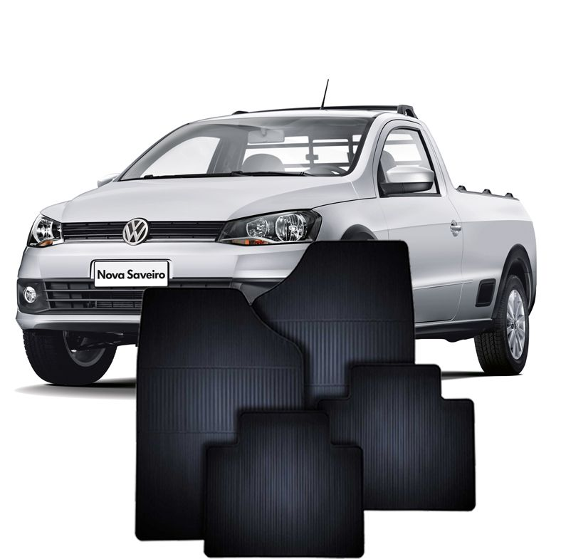 Tapete de Borracha Volkswagen Saveiro
