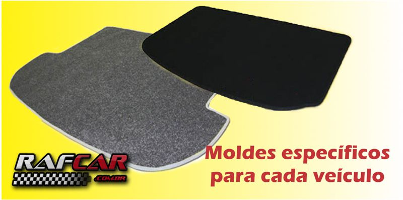 Tapete Porta Malas Bordado GM Onix