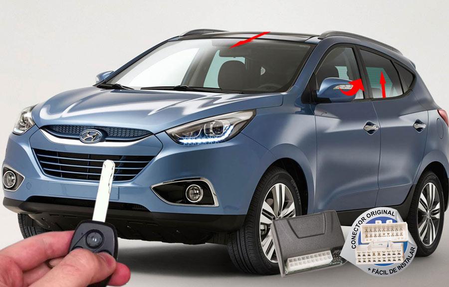 Módulo Conforto IX35 2010-2015 Hyundai (Vidro Teto Espelho) ORIGINAL