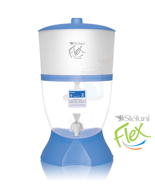 Filtro Stéfani Flex Azul 6 litros- com bóia  - Pensou Filtros