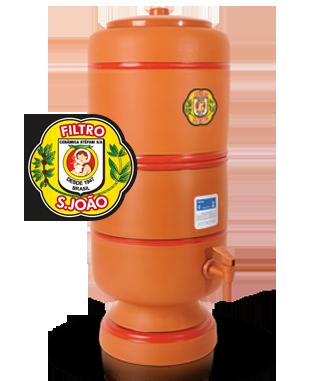 Filtro de Barro São João 4 litros  - Pensou Filtros