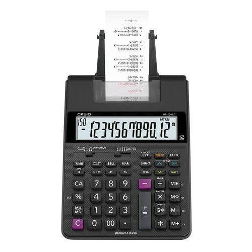 Calculadora Mesa Casio Bobina Impressão 12 Digitos Hr100rc  - Pensou Filtros