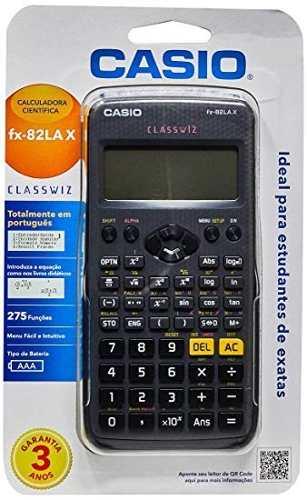 Calculadora Científica Casio Fx-82lax 275 Funções Original  - Pensou Filtros
