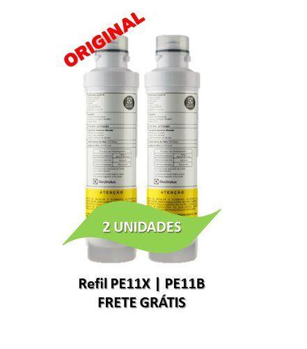Refil Electrolux PE11X   PE11B - ORIGINAL - 2 UNIDADES  - Pensou Filtros