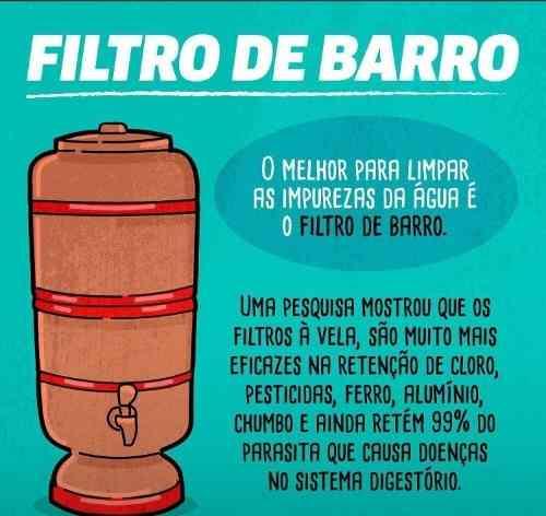ml- Filtro De Barro Decorado Floral Salus 4 Litros  - Pensou Filtros
