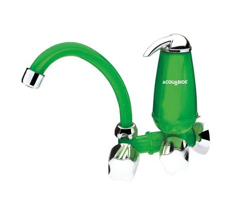 ML-  Filtro Com Torneira Bica Movel Verde Acquabios Original  - Pensou Filtros