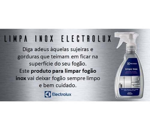 ML - Limpa Inox Electrolux 500ml  - Pensou Filtros