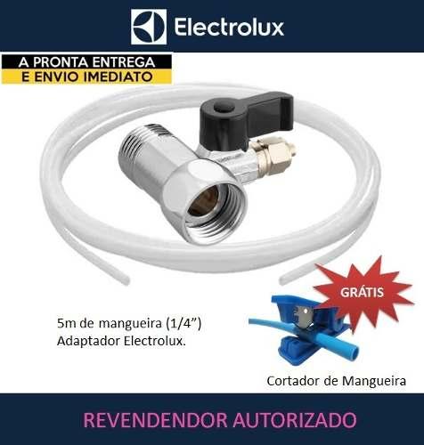 KIT MANGUEIRA ELECTROLUX + ADAPTADOR + CORTADOR DE MANGUEIRA  - Pensou Filtros