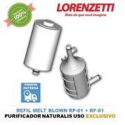 Conjunto Refil Naturalis Lorenzetti RF-01 RP-01 Original