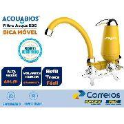 ML- Filtro Torneira Bica Móvel Acqua E05 Colors Amarelo Cr