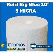 Refil Polipropileno Big Blue 10 Polegadas 5 Micra