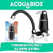 Torneira Bica Movel De Parede Filtro + Refil Extra
