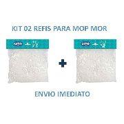 Refil Para Esfregão Vassoura Mop Limpeza Pratica Mor 2 Unid