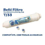 Filtro Agua Geladeira Side By Side Electrolux,ge,samsung, Lg