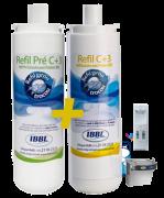 Refil C+3 e Pré-C+3 para purificadores IBBL