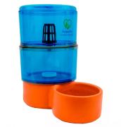 Filtro Bebedouro AcquaPet 8 litros 1 vela Azul com bomba bivolt - cachorros e gatos