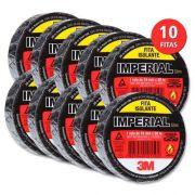 Fita Isolante 3M - Slim (18mm x 10m) - KIT COM 10 UNIDADES