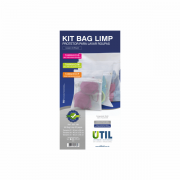 3 Sacos para Lavar Roupas Kit Bag Limp Util