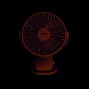 Mini Ventilador Portátil Compacto 360° C/ Carregador Usb