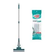 mop de limpeza geral plus + 1 refil extra Flash limp