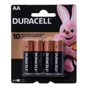 Pilhas Duracell Duralock Alcalina Aa Embalagem C/4 Unids