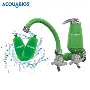 Torneira Filtro Bica Móvel com 2 Refis - Verde Acquabios