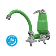 Torneira Bica Móvel com Filtro E05 Acquabios Verde Cromada - QS