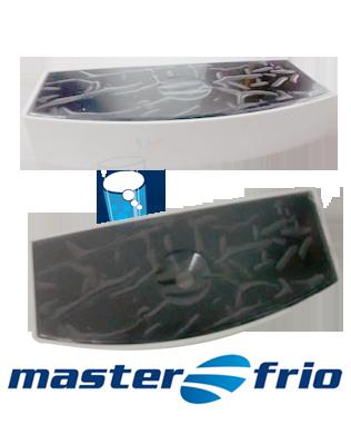 Porta Copo / Pingadeira Purificador Master Frio - Preto (original)  - Pensou Filtros