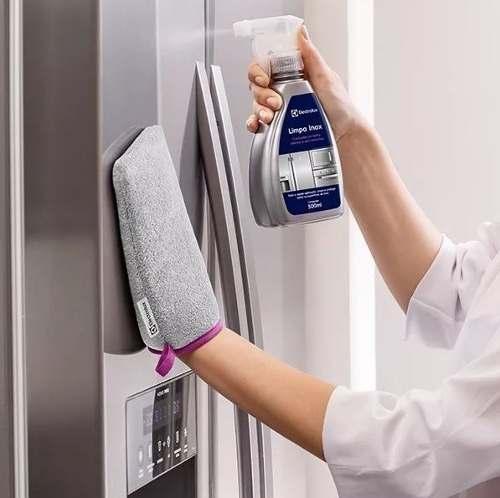 5 Limpa Inox  + 1 Luva Polimento  - Pensou Filtros