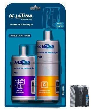 Refis P635 e P655 Latina para os Purificadores Latina - original  - Pensou Filtros