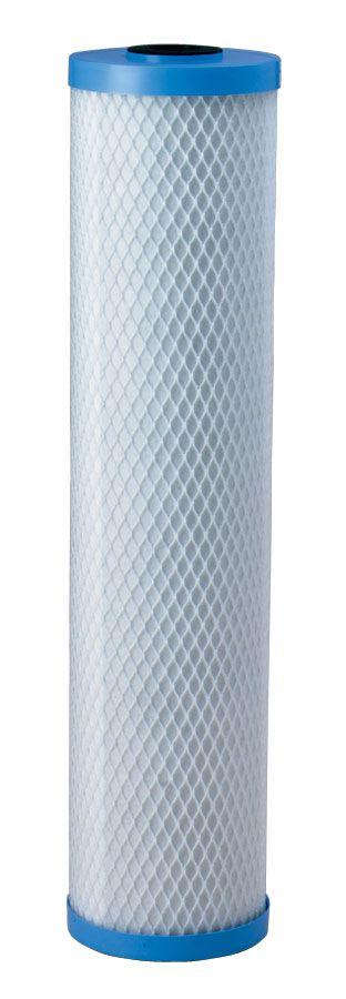 """Filtro Refil de Carvão Ativado Granular GAC para BIG BLUE 20"""" - 5 micra  - Pensou Filtros"""