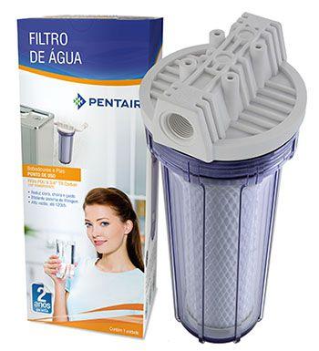 "Filtro para bebedouros e cozinhas Pentair Hidro Filter 9.3/4""  - Pensou Filtros"