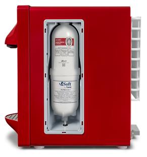 Purificador de Água Soft Slim Cereja - 110v   - Pensou Filtros