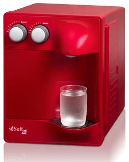 Purificador de Água Soft Slim Cereja - 220v   - Pensou Filtros