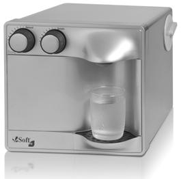 Purificador de Água Soft Fit Prata - 110v   - Pensou Filtros
