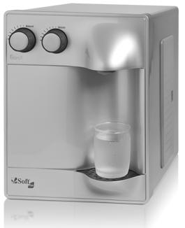 Purificador de Água Soft Plus Prata - 110v   - Pensou Filtros